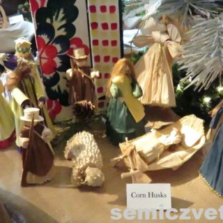 Рождественский сюжет. Кукурузная соломка. Выставка «Рождество Христово в искусстве». Даллас. Техас