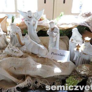 Фарфоровые статуэтки Эдварда Бим. Выставка «Рождество Христово в искусстве». Даллас. Техас