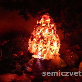 Пасхальный подарок. Яйцо-светильник из морских ракушек