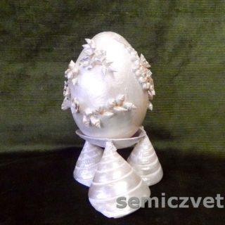 Декор пасхальных яиц из пенопласта