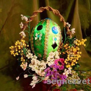 Корзинки для пасхальных яиц